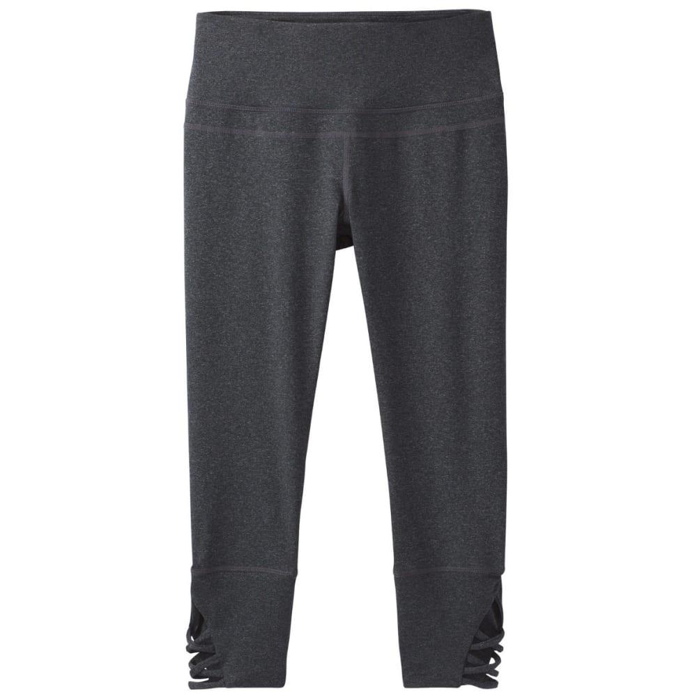 PRANA Women's Deco Crop Pants - CHARCOAL HEATHER