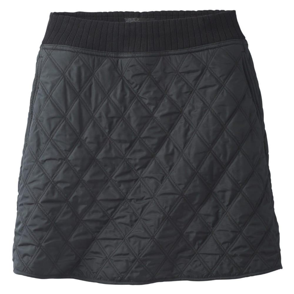 Prana Women's Diva Skirt - Black - Size L W3DIVA316