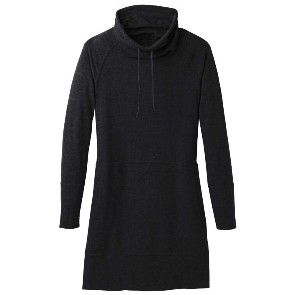 PRANA Women's Ellis Dress - BLACK