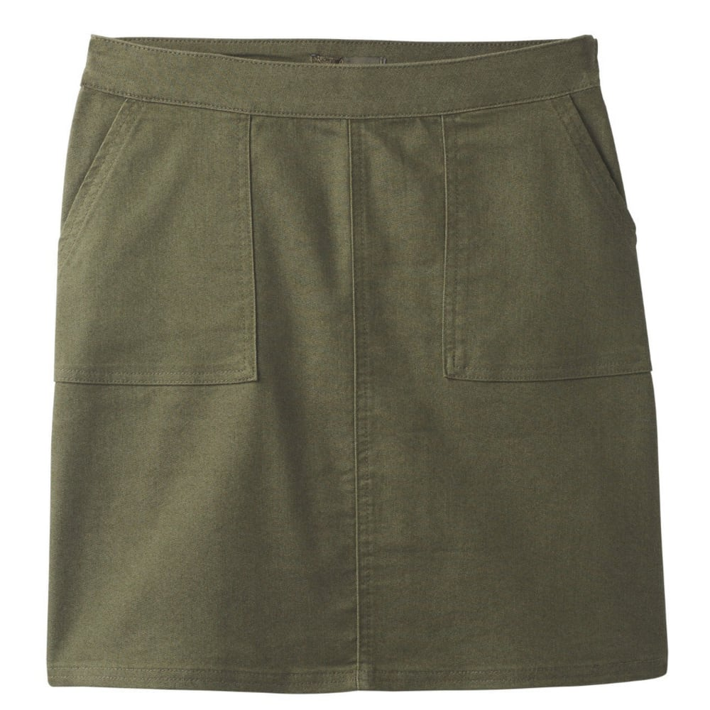 PRANA Women's  Kara Skirt - CARGO GREEN