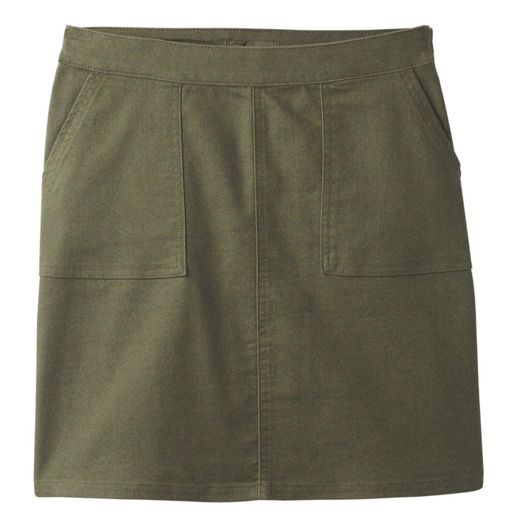 PRANA Women's  Kara Skirt - CARGO GREEN