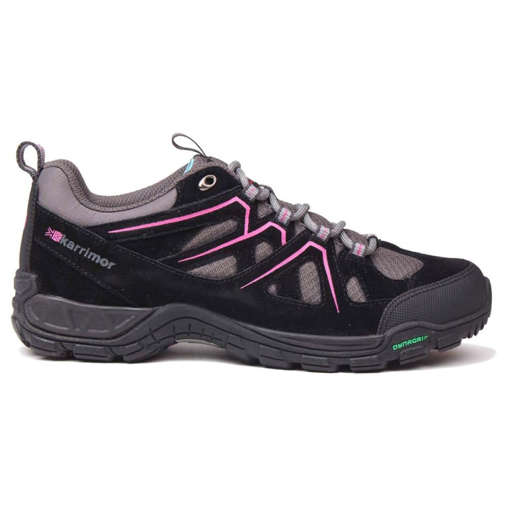 KARRIMOR Kids' Summit Low Hiking Shoes - BLACK/PINK