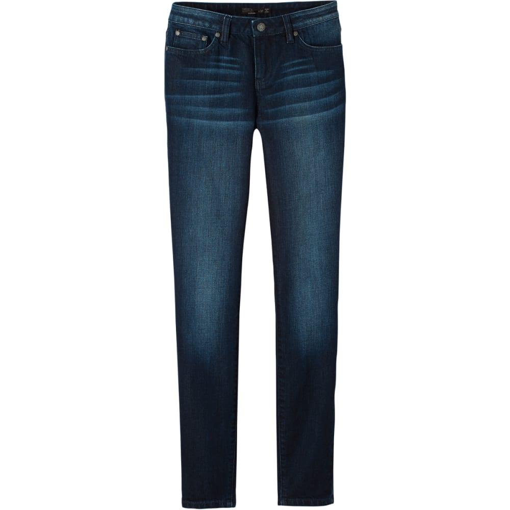 Prana Women's London Jean - Blue - Size 2 Regular W4LJRG316