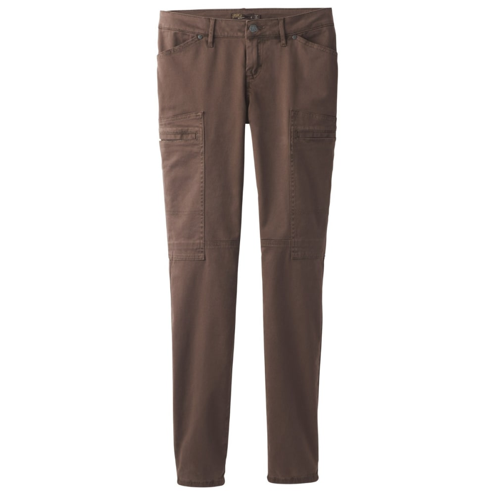PRANA Women's Louisa Skinny Leg Pants - COFFEE BEAN