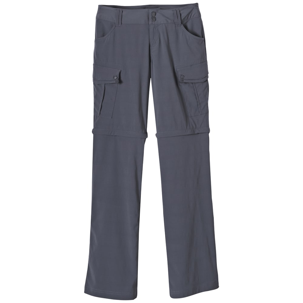 PRANA Women's Sage Convertible Pants - COAL