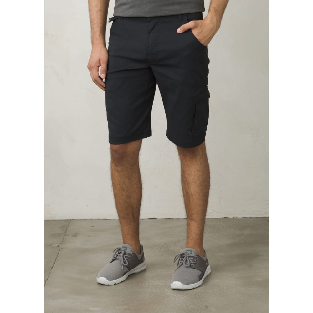 "PRANA Men's Stretch Zion Short - 10"" Inseam - BLACK"