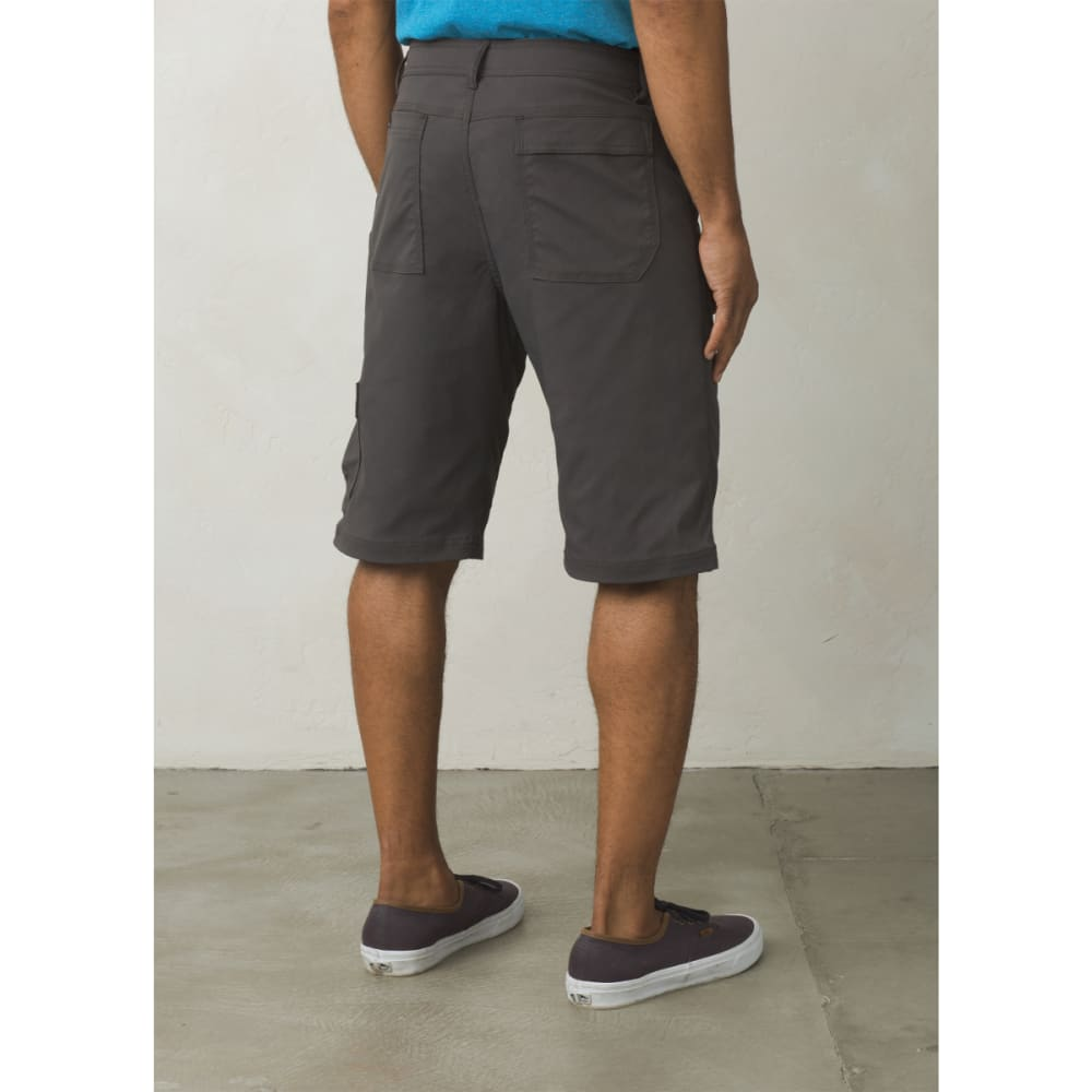 "PRANA Men's Stretch Zion Short - 10"" Inseam - CHARCOAL"