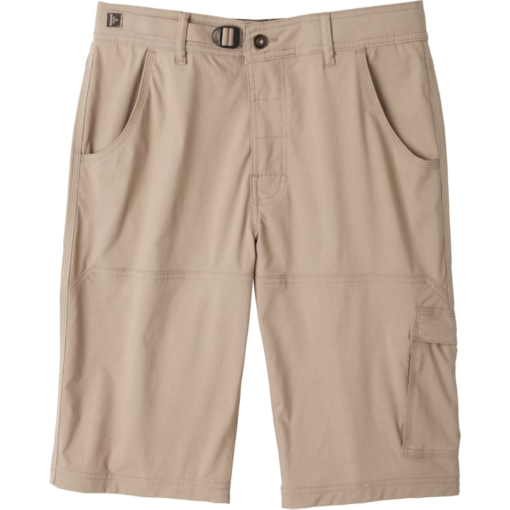 "PRANA Men's 10"" Stretch Zion Short - DARK KHAKI"