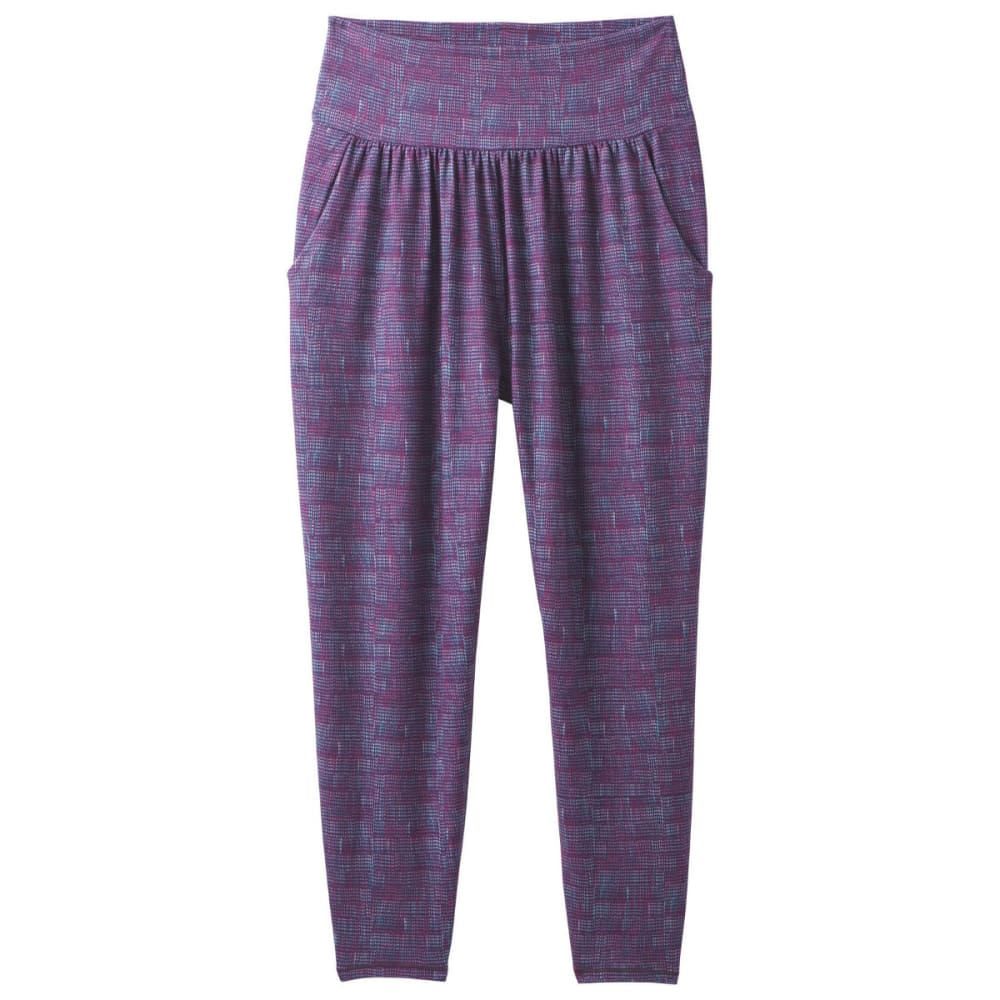 PRANA Women's Ryley Crop Pants - SANGRIA ASANA