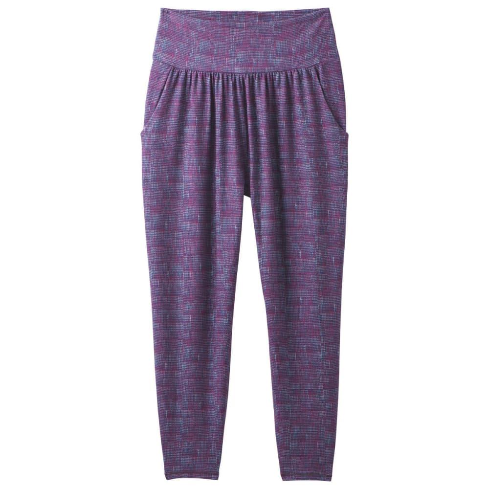 PRANA Women's Ryley Crop Pants - SANGRIA ASANA