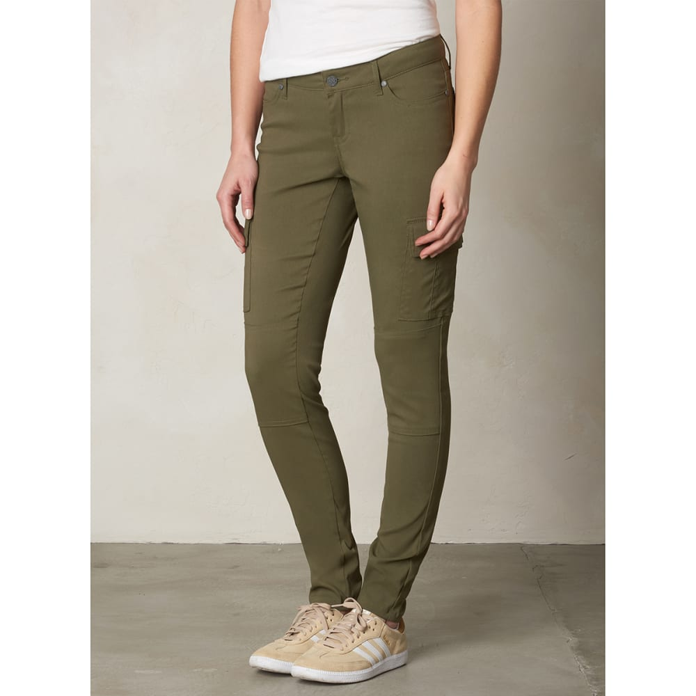 PRANA Women's Meme Pants - CARGO GREEN