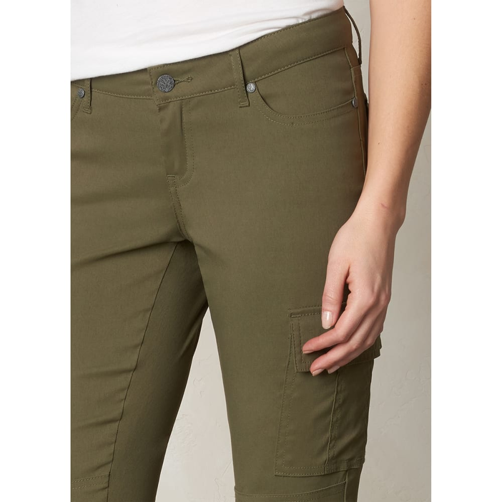 PRANA Women's Meme Pants - CARGO GREEN