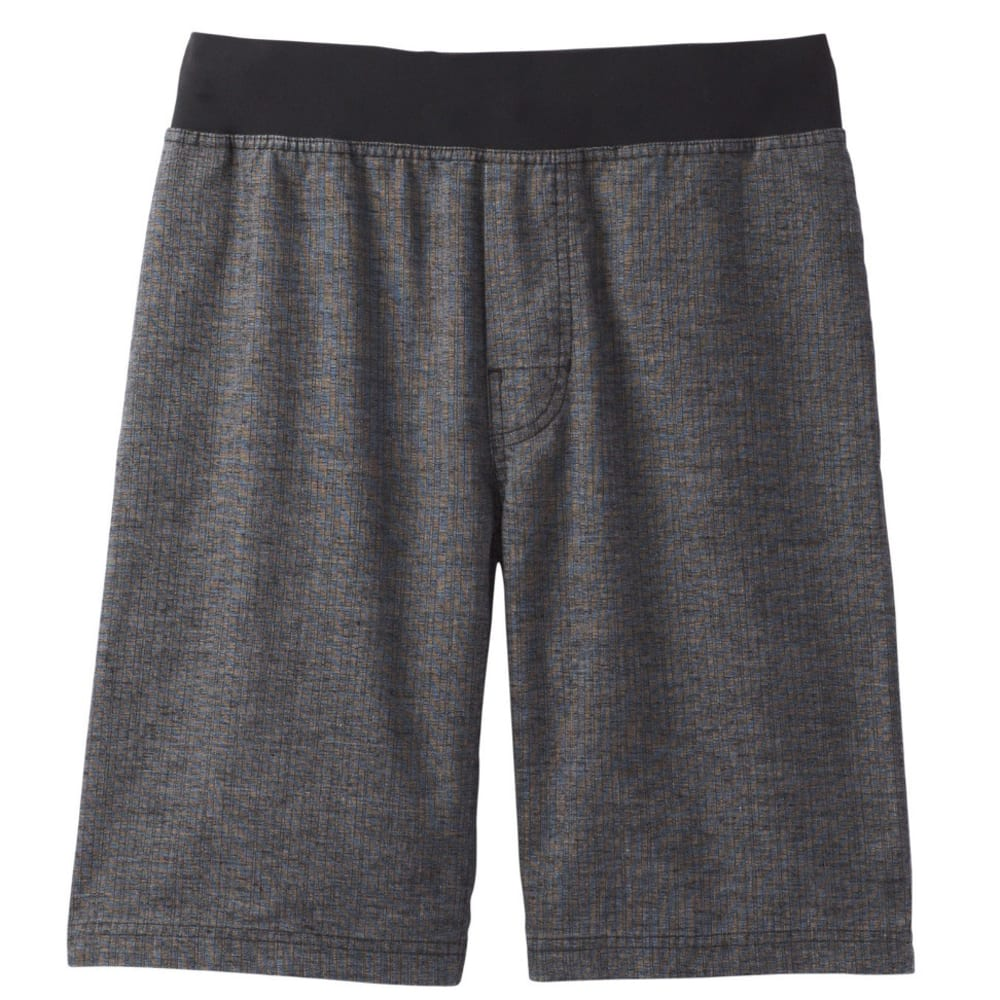 PRANA Men's Vaha Short - BLACK HERRINGBONE