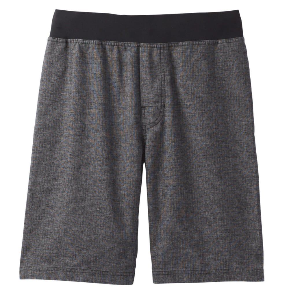 PRANA Men's Vaha Shorts - BLACK HERRINGBONE