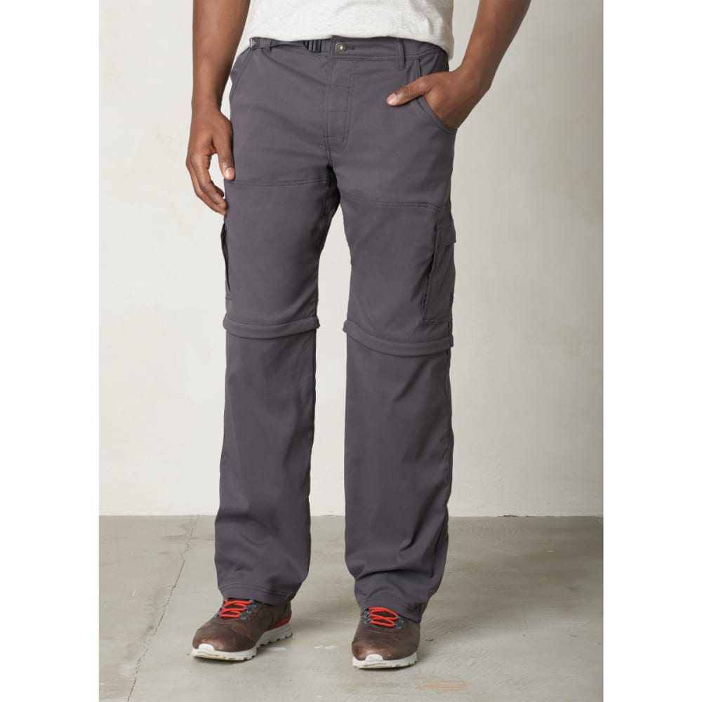 PRANA Men's Stretch Zion Convertible - CHARCOAL
