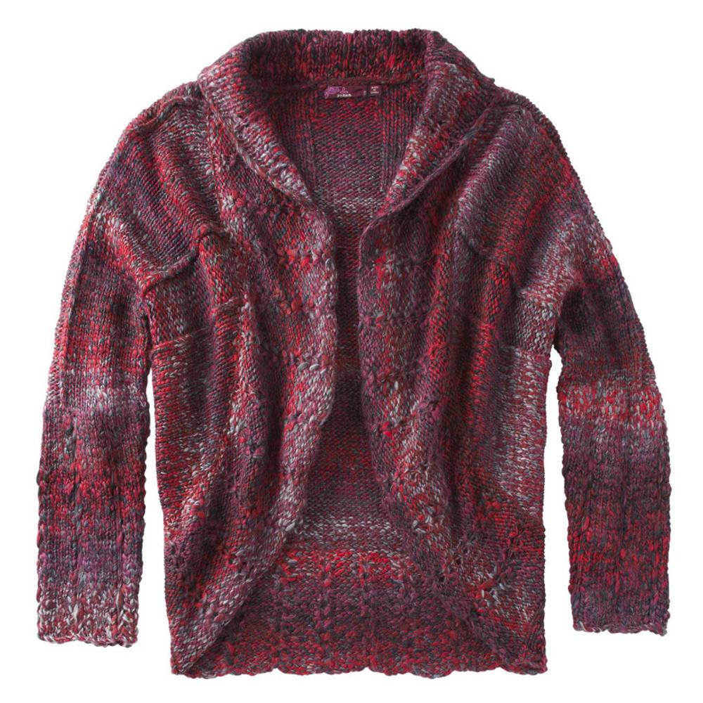 PRANA Women's Rosewood Wrap - RED