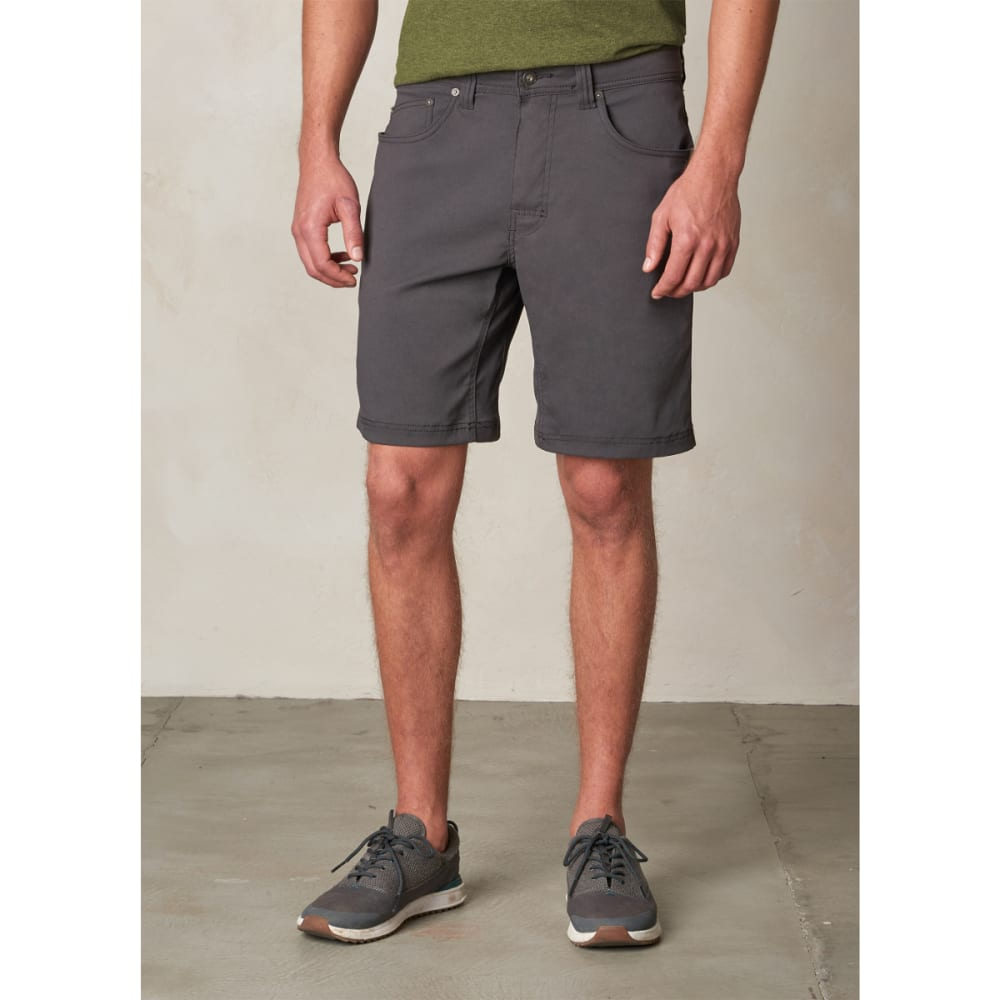 PRANA Men's Brion Shorts, 11-inch - CHARCOAL