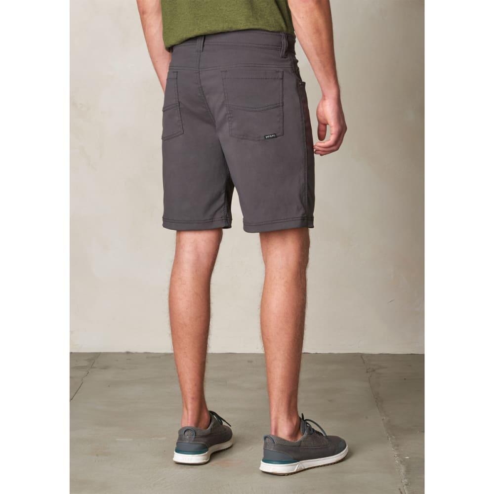 PRANA Men's Brion Shorts, 11-inch - CHARCOAL