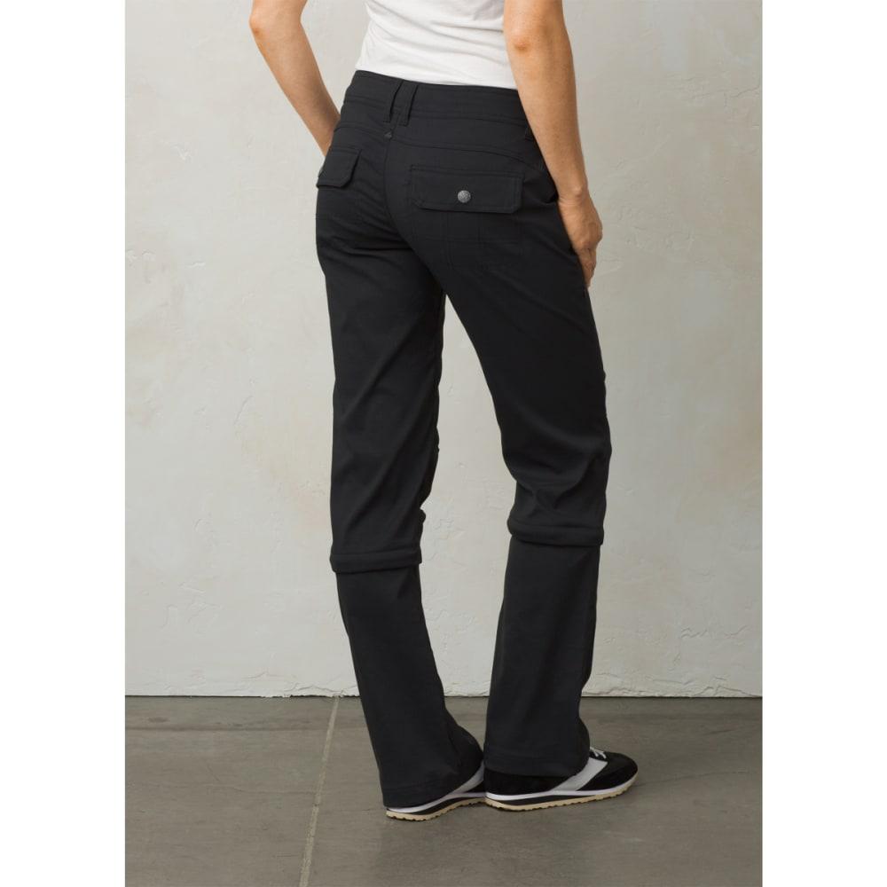 PRANA Women's Halle Convertible Pant - BLACK