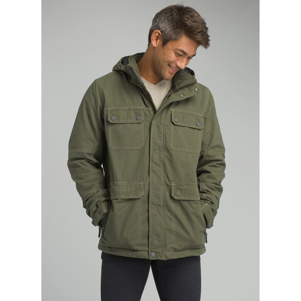 PRANA Men's Bronson Towne Jacket - CARGO GREEN