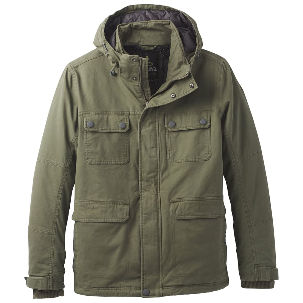 PRANA Men's Bronson Towne Jacket - CARGO GREEN