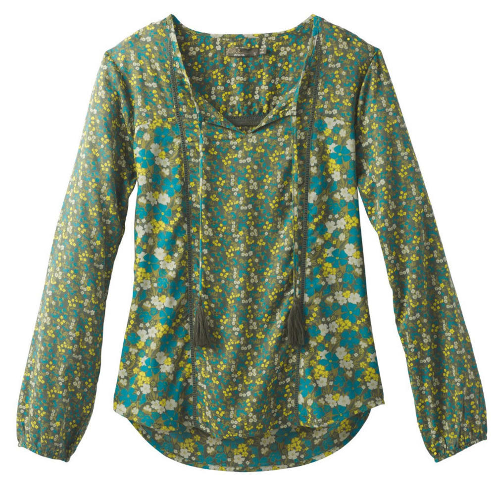 PRANA Women's Faith Top - OLIVE