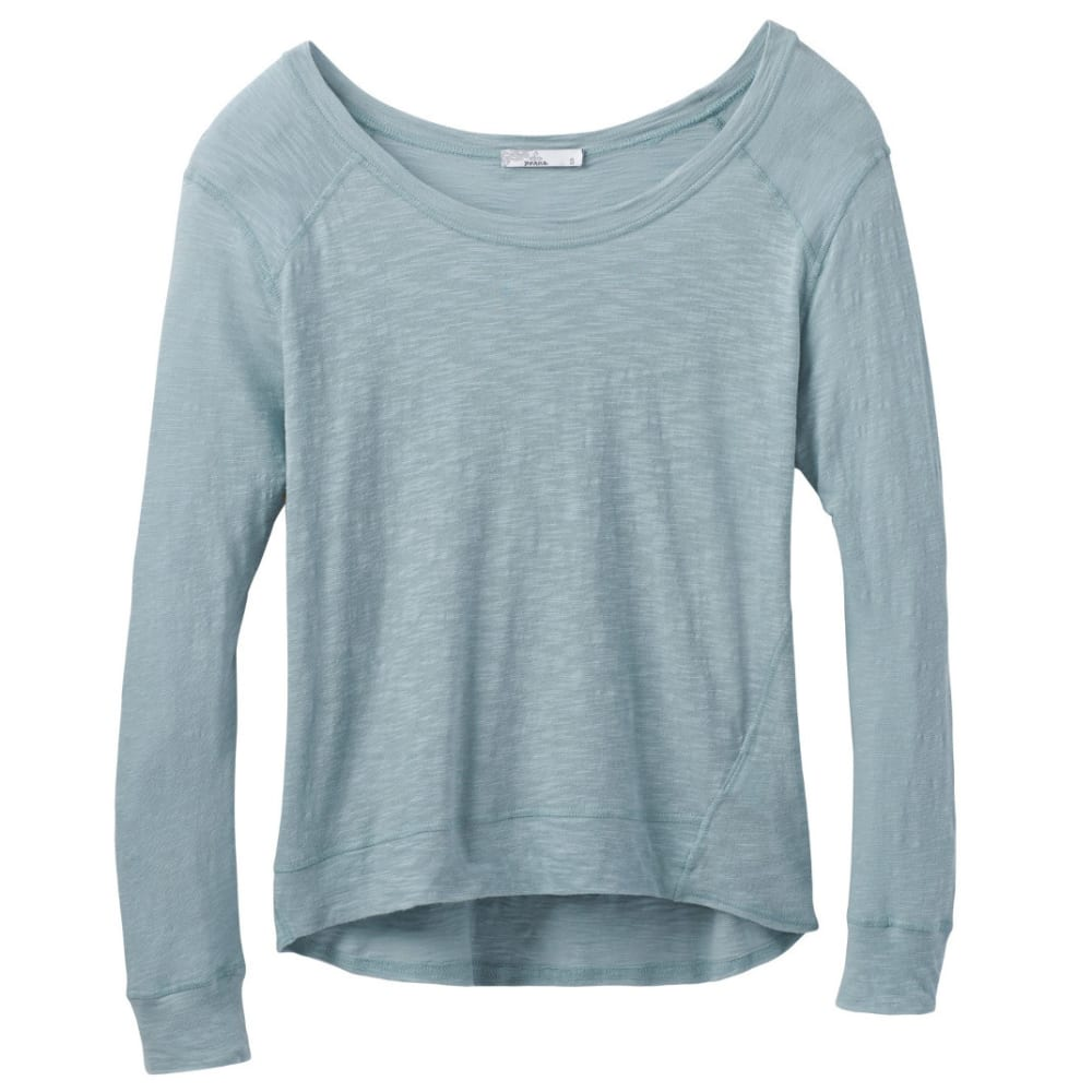 PRANA Women's Fallbrook Sheer Top - STORM BLUE