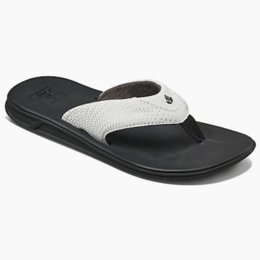 REEF Women's Rover Sandals - BLACK/WHITE-BLW