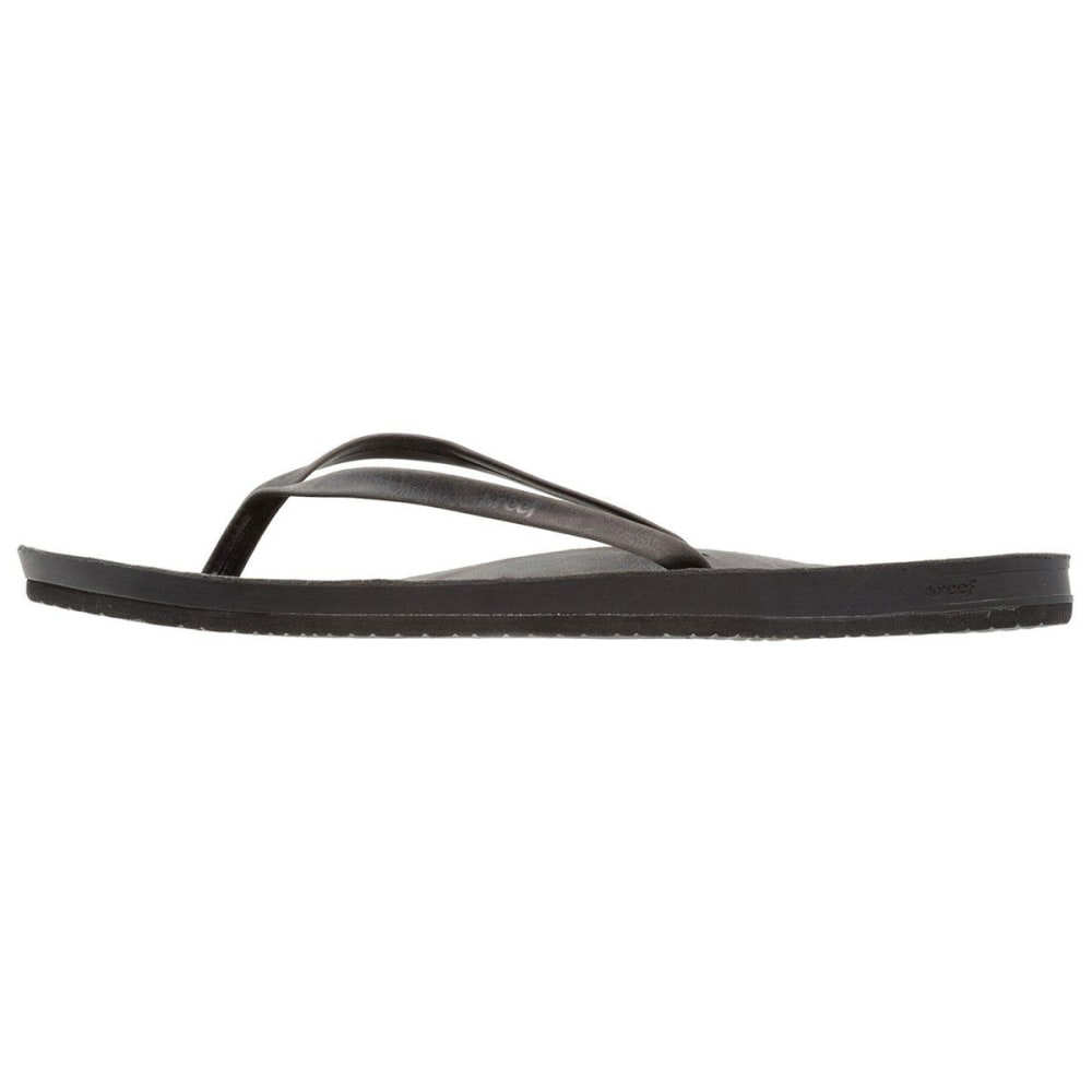 REEF Women's Cushion Bounce Slim Sandals - BLACK-BLA