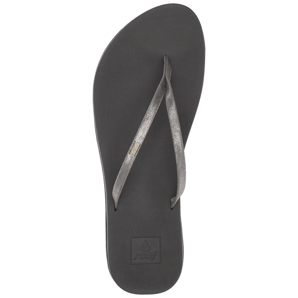 REEF Women's Cushion Bounce Slim Sandals - PEWTER-PEW