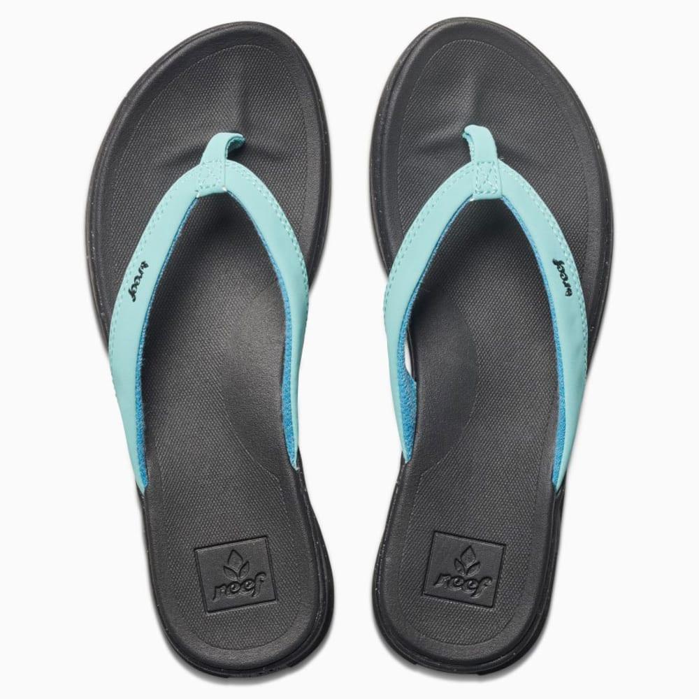 REEF Women's Rover Catch Pop Sandals - STARLIGHT BLUE