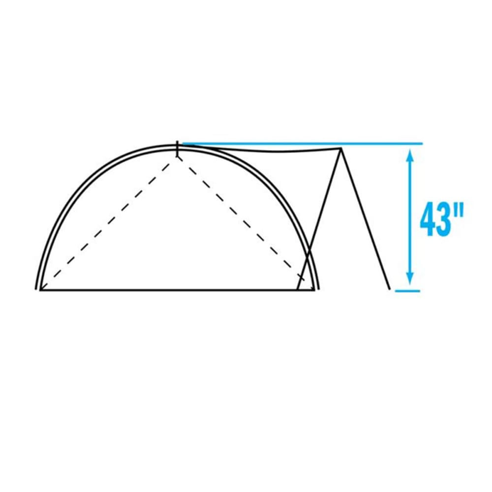 THE NORTH FACE Assault 3 Tent - C8T-SUMMIT GOLD/GREY