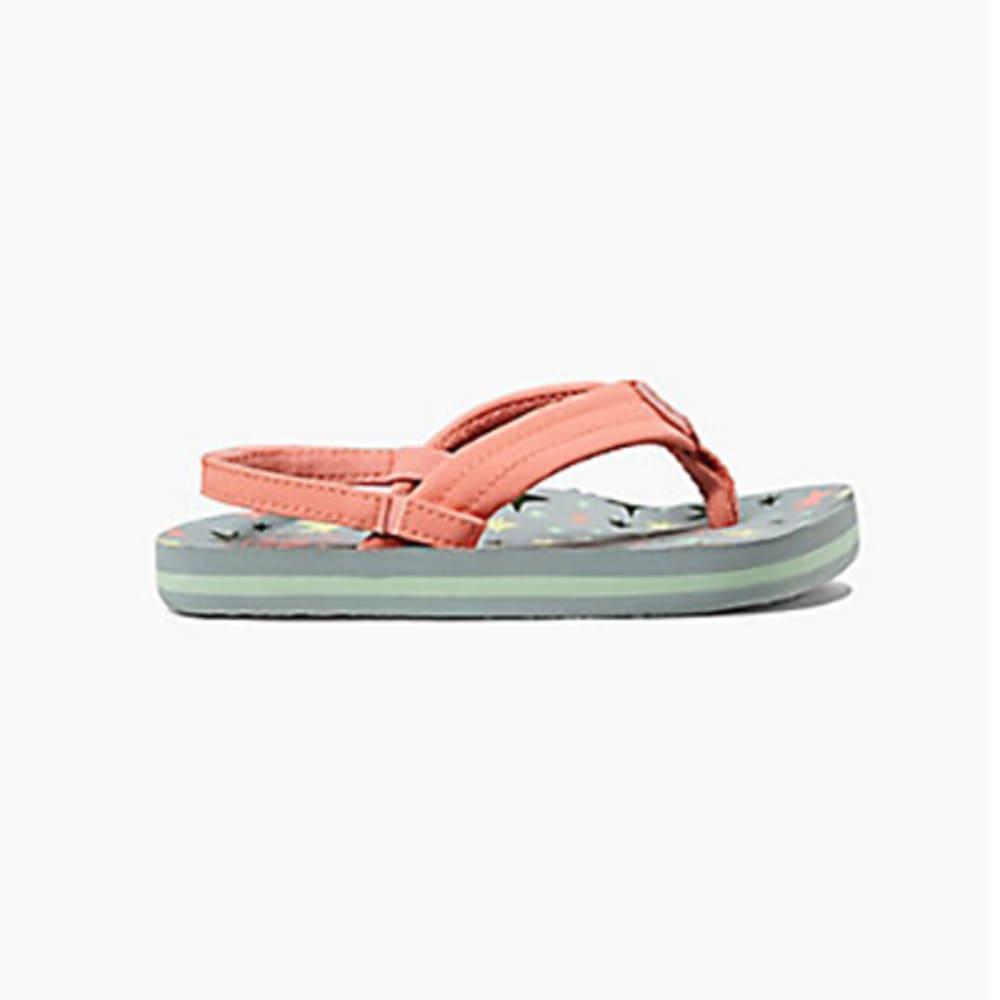 REEF Girl's Little Ahi Sandals - TWINKLE STARS-TLS