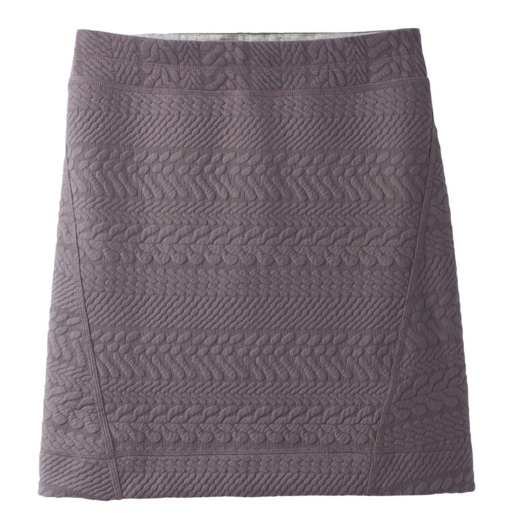 PRANA Women's Macee Skirt - MUTED TRUFFLE