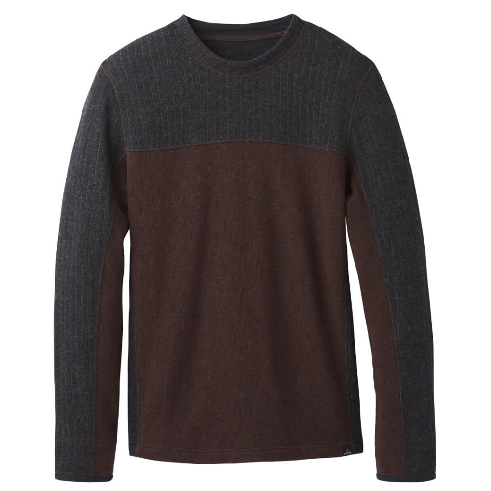 PRANA Men's Wentworth Crew - COCOA