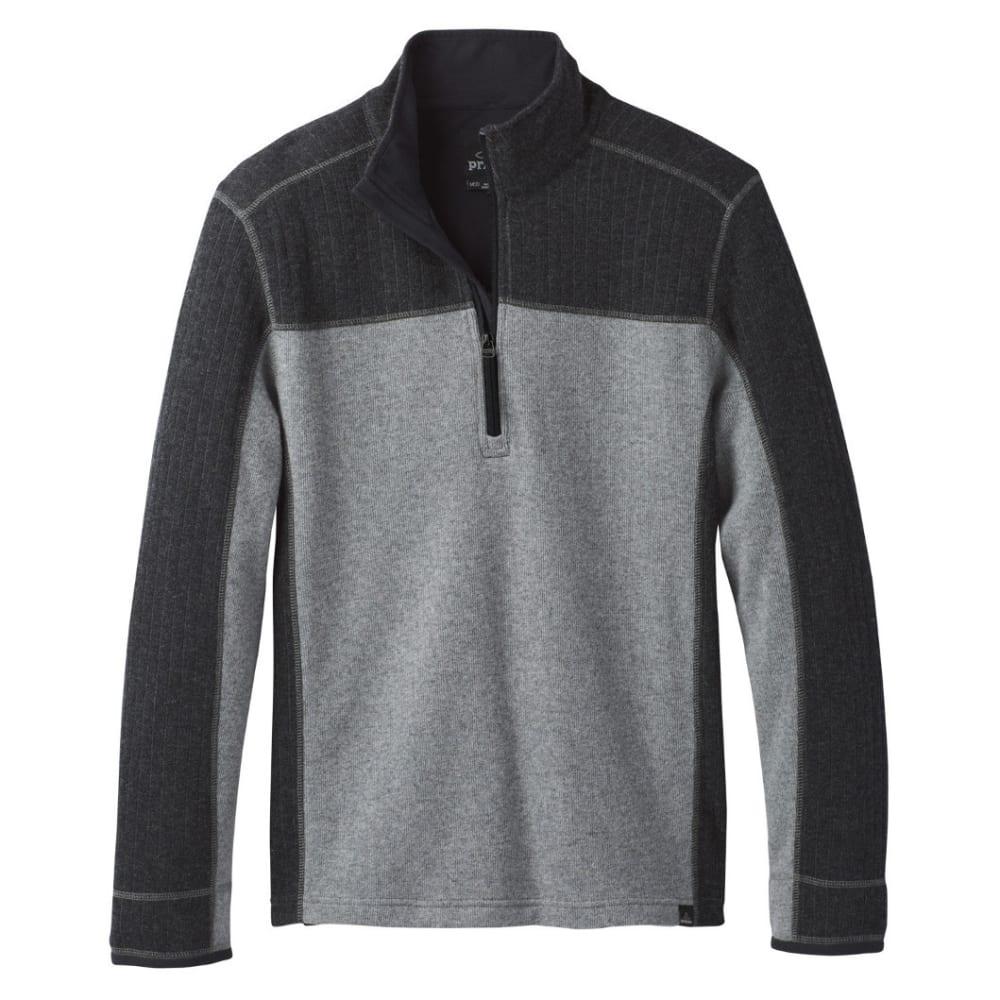PRANA Men's Wentworth 1/4 Zip Shirt - GRAVEL
