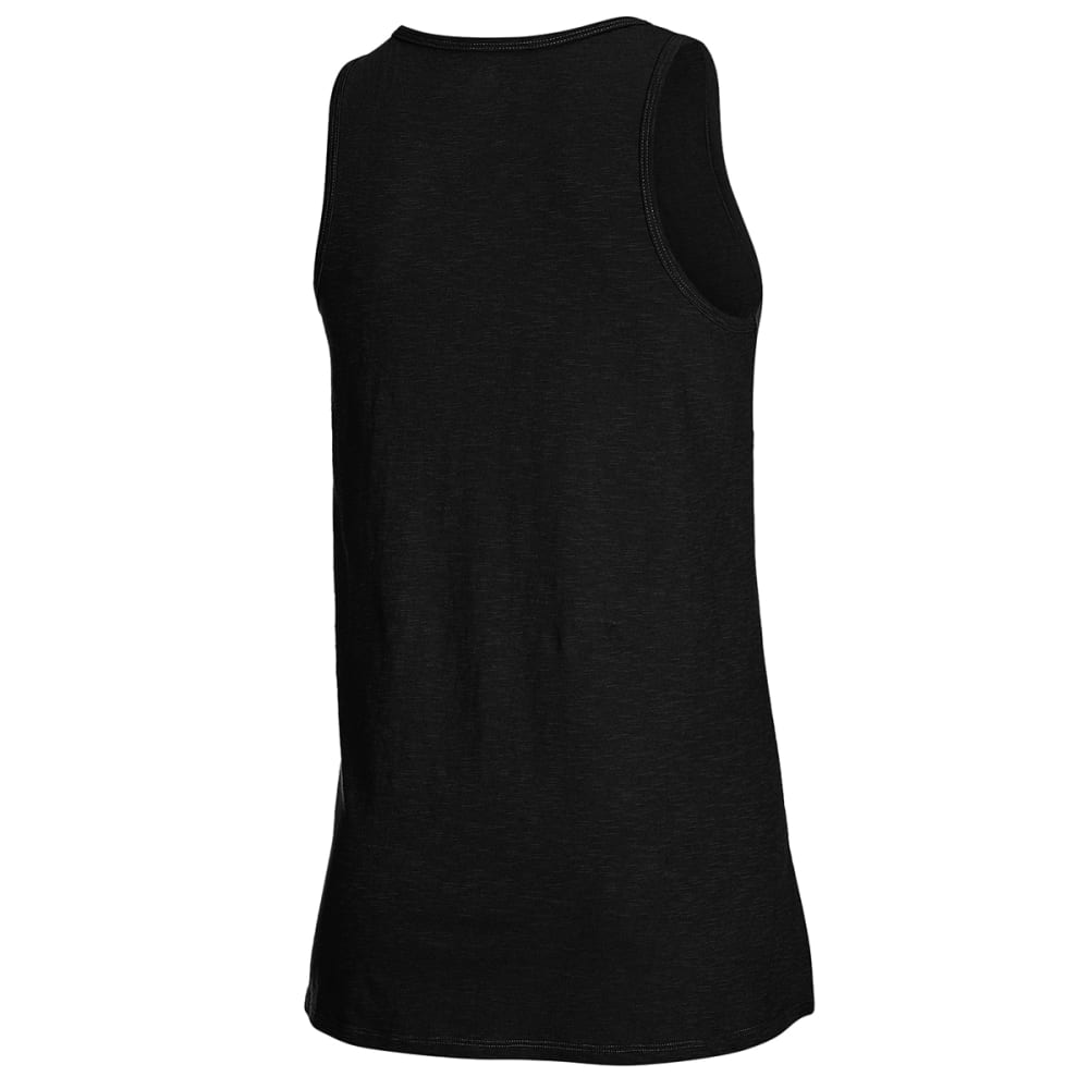EMS Women's Solid Organic Slub Tank Top - ANTHRACITE