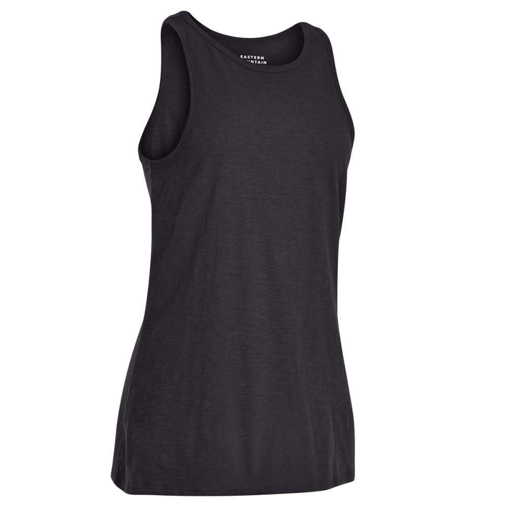 EMS Women's Solid Organic Slub Tank Top - PHANTOM