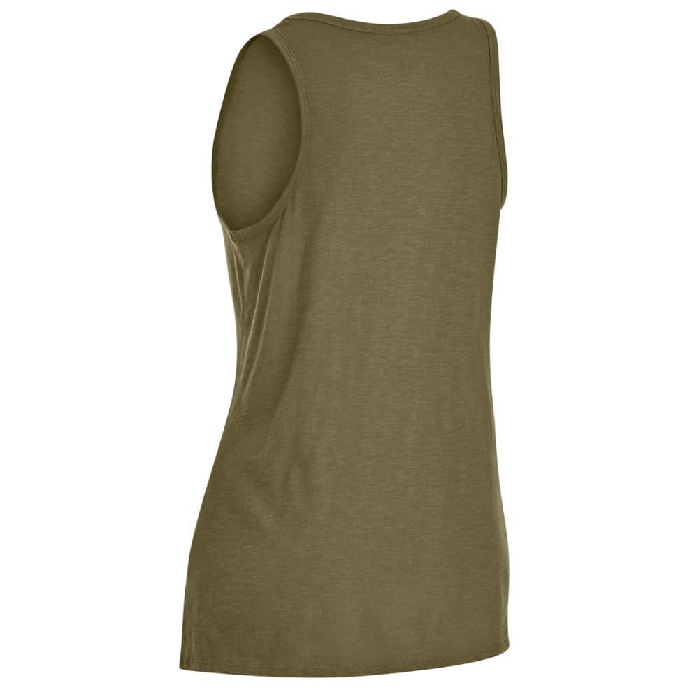 EMS® Women's Solid Organic Slub Tank Top - MARTINI OLIVE