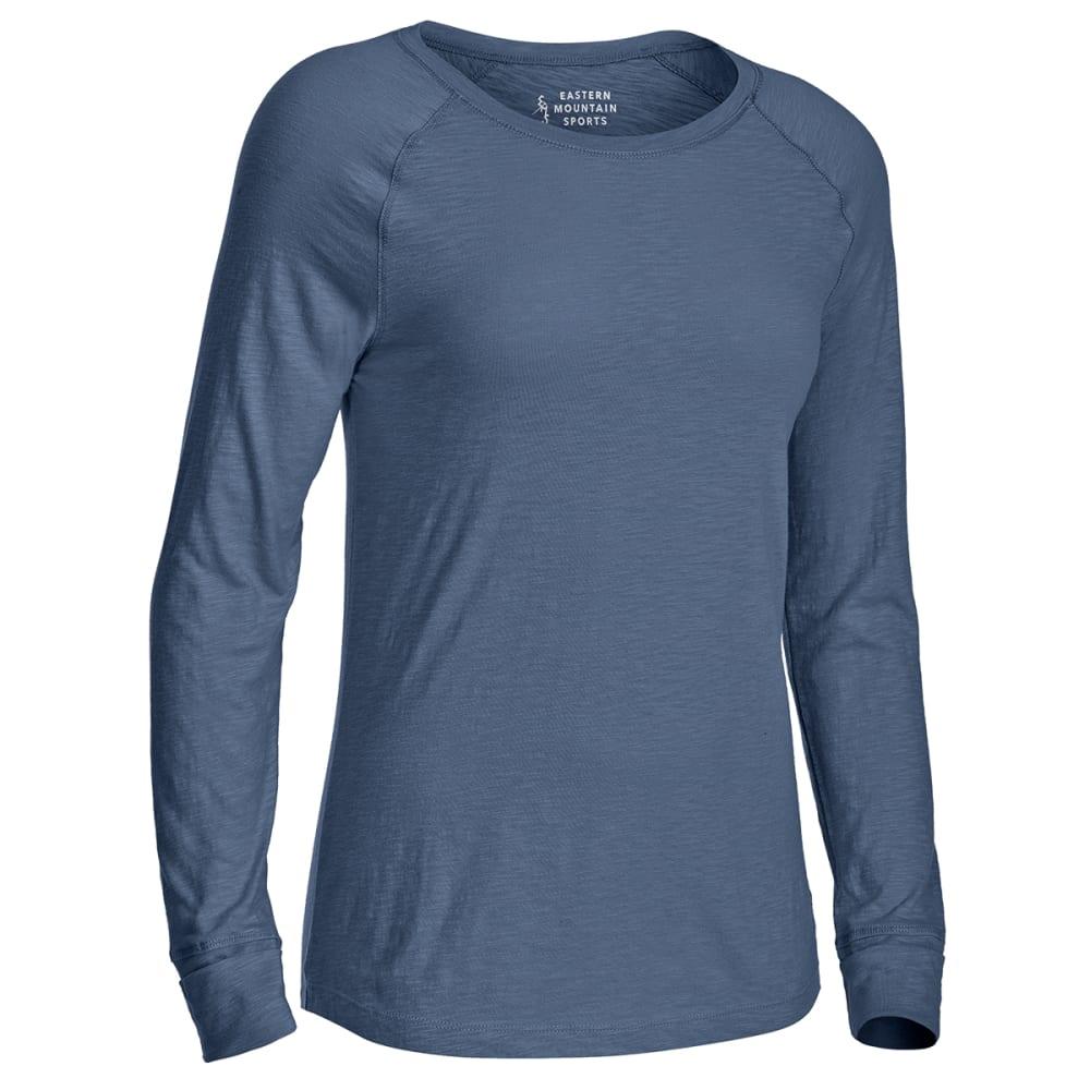 EMS Women's Solid Organic Slub Long-Sleeve Tee XS