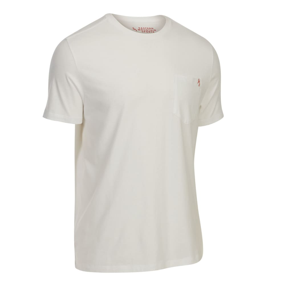 EMS Men's Organic Pocket Short-Sleeve Tee - BRIGHT WHITE