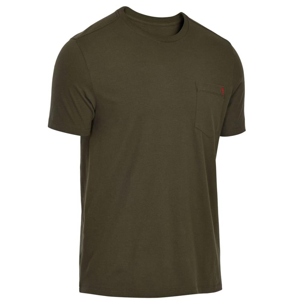 EMS Men's Organic Pocket Short-Sleeve Tee - FOREST NIGHT