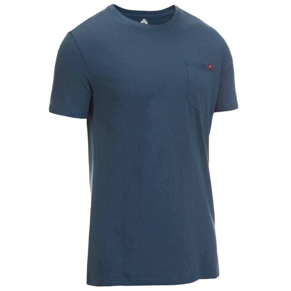 EMS Men's Organic Pocket Short-Sleeve Tee - BLUE WING TEAL