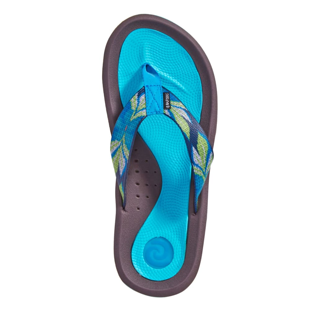 RAFTERS Women's Tsunami Anemone Sandals - BLUE MULTI-460