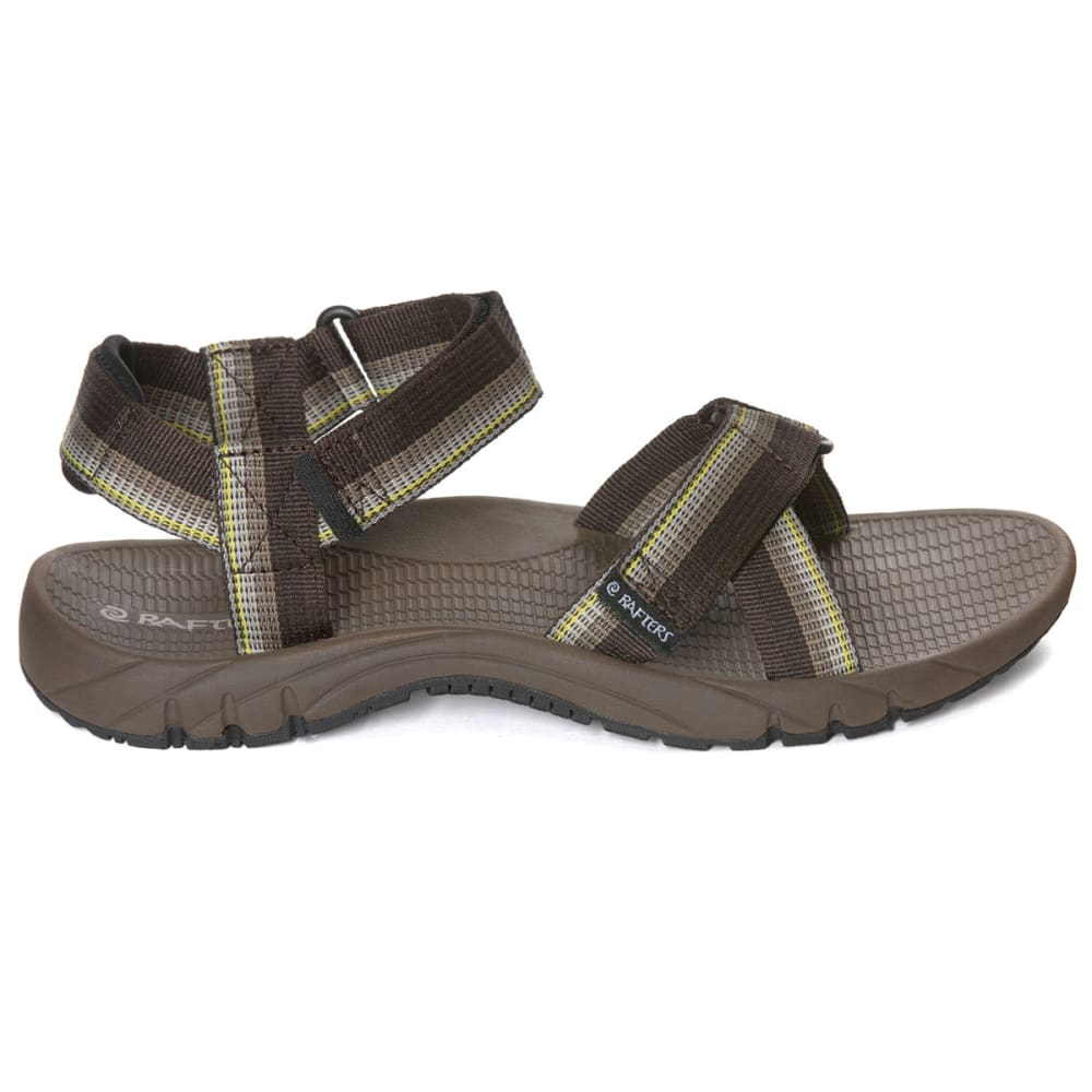 RAFTERS Men's Horizon Sport Sandals - BROWN MULTI-249