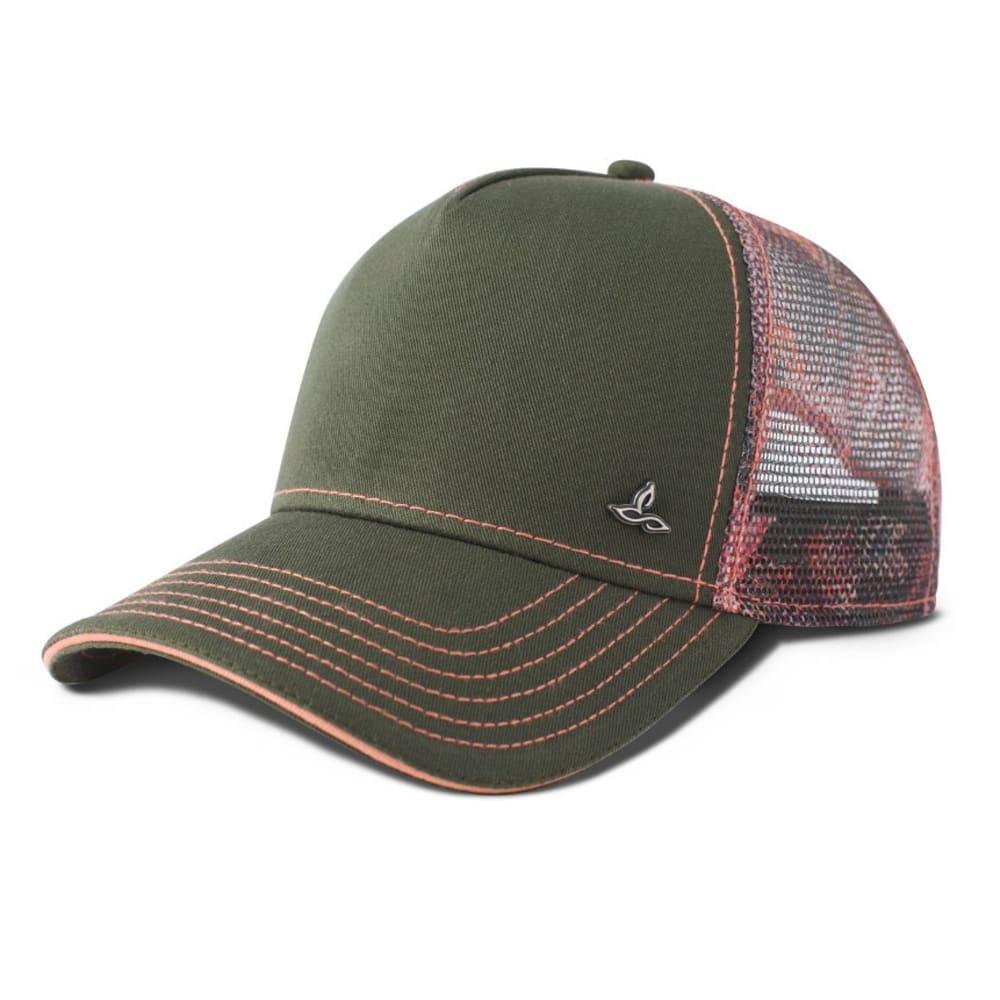 PRANA Women's Idalis Trucker Hat - GREEN DIGI FLOWER