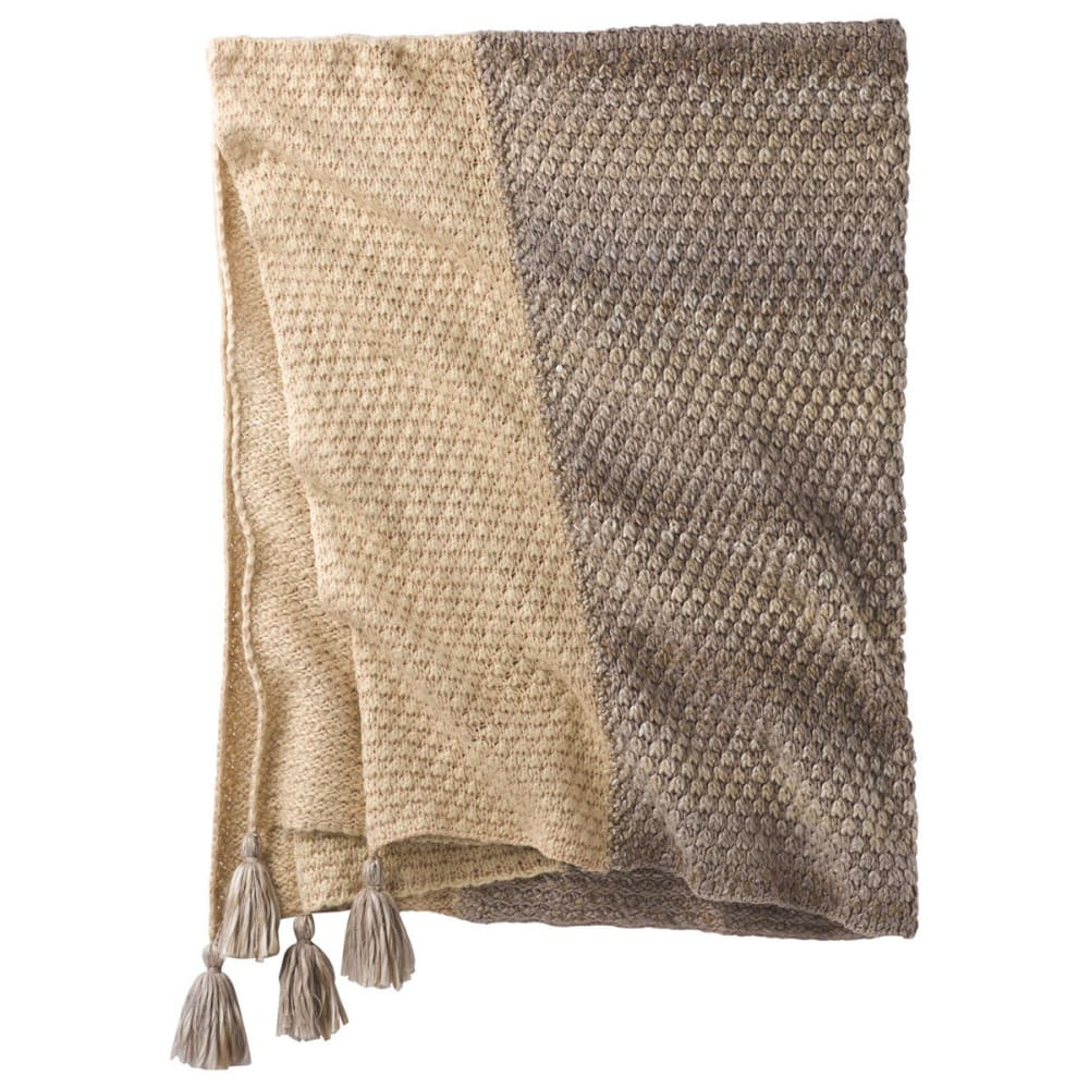 PRANA Rho Blanket - EARTH GREY