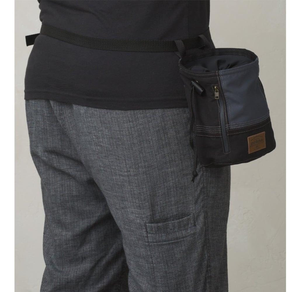 PRANA Color Block Chalk Bag - BLACK