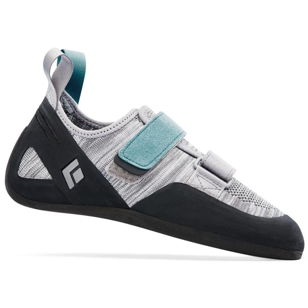 BLACK DIAMOND Women's Momentum Climbing Shoes - ALUMINUM 570106ALUM