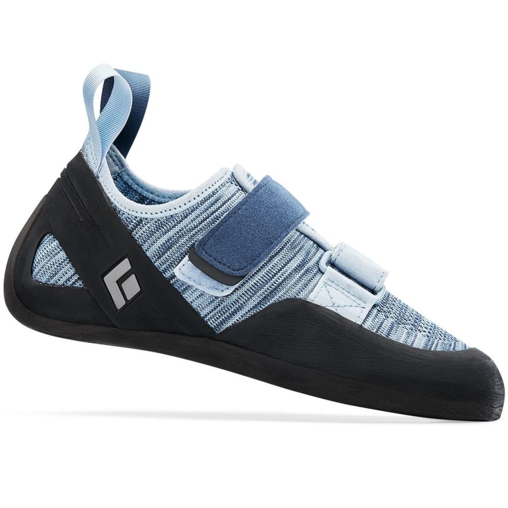 BLACK DIAMOND Women's Momentum Climbing Shoes - BLUE STEE 570106BLDT